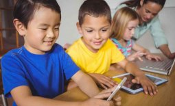 children with technology