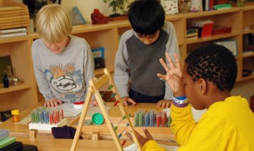 Montessori method kids