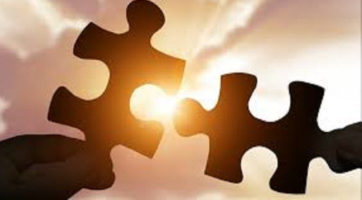 puzzle pieces connecting